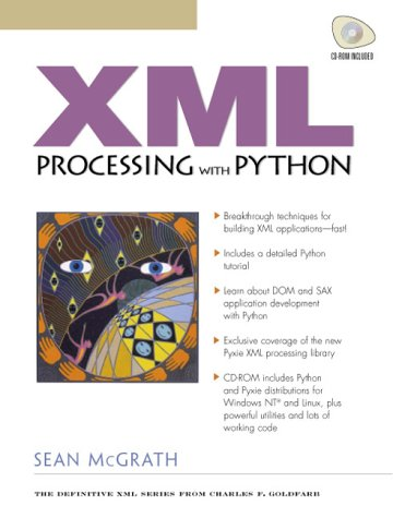 9780130211194: XML Processing with Python (with CD-ROM)
