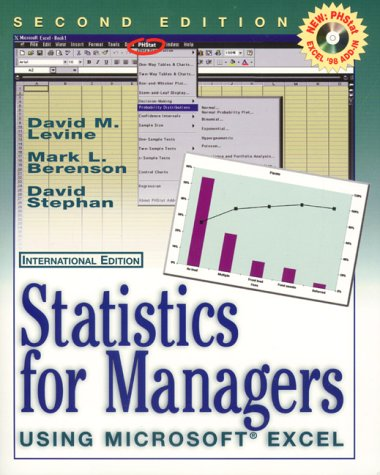 9780130212184: Statistics for Managers Using MS Excel