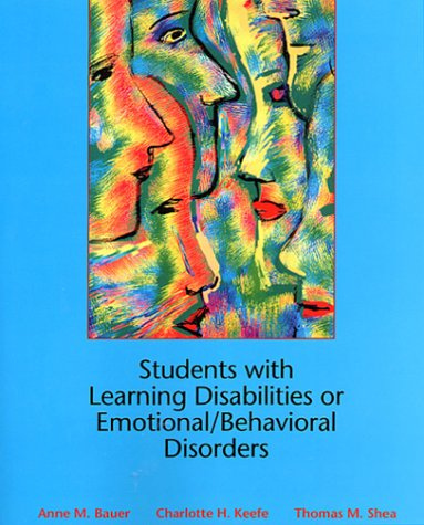 9780130212252: Students with Learning Disabilities or Emotional/Behavioral Disorders