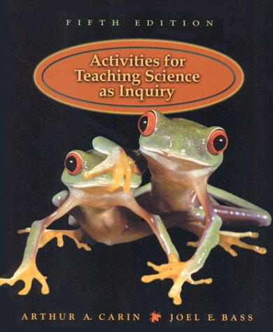 9780130212818: Activities for Teaching Science as Inquiry (5th Edition)