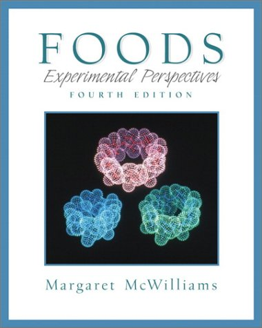 9780130212825: Foods: Experimental Perspectives