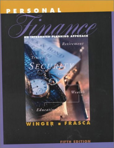 9780130212863: Personal Finance: An Integrated Planning Approach (5th Edition)