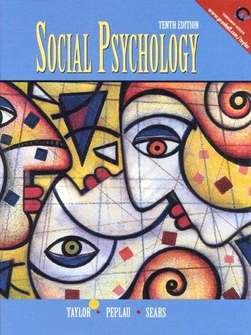 9780130213365: Social Psychology (10th Edition)