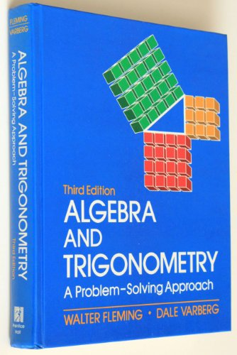 9780130213389: Algebra and Trigonometry