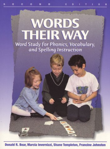 9780130213396: Words Their Way: Word Study for Phonics, Vocabulary, and Spelling Instruction (2nd Edition)