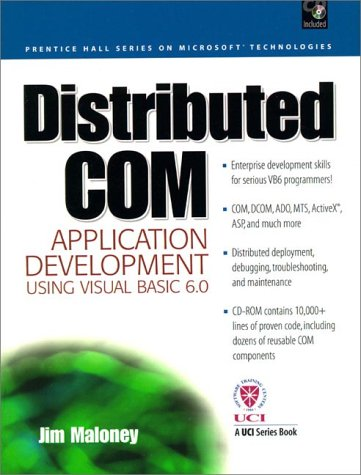 9780130213433: Distributed COM Application Development Using Visual Basic 6.0 and MTS