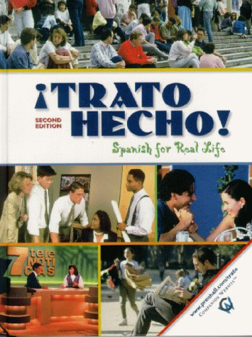 9780130215154: �Trato hecho!: Spanish For Real Life (2nd Edition)