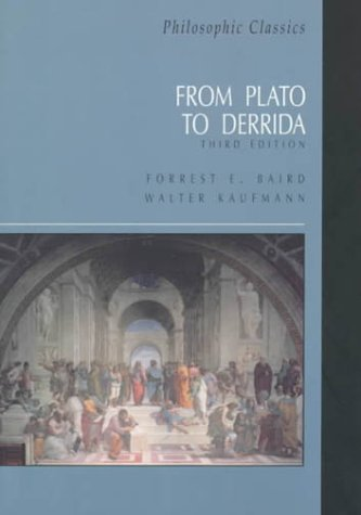 9780130215321: Philosophic Classics: From Plato to Derrida (3rd Edition)