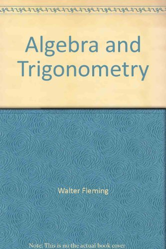 9780130218247: Algebra and Trigonometry