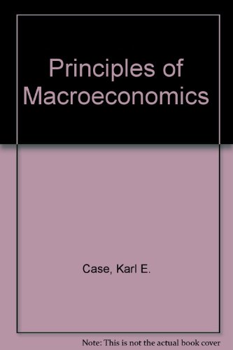 9780130218896: Principles of Macroeconomics