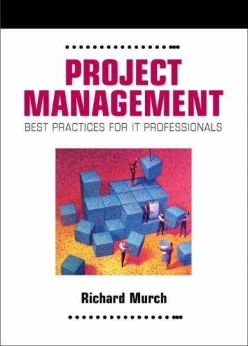 9780130219145: Project Management: Best Practices for IT Professionals (Harris Kern's Enterprise Computing Institute)