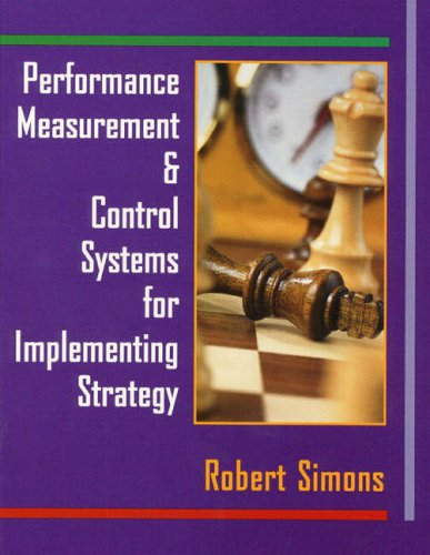 9780130219459: Performance Measurement and Control Systems for Implementing Strategy: Text only