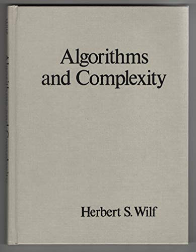 9780130219732: Algorithms and Complexity