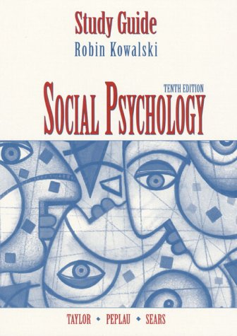9780130219756: Social Psychology