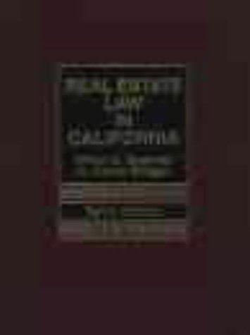 9780130220356: Real Estate Law in California