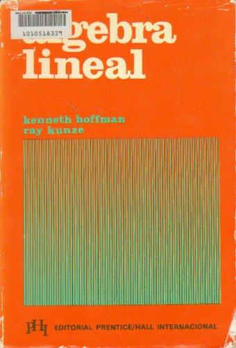 9780130220462: Algebra Lineal (Spanish edition)