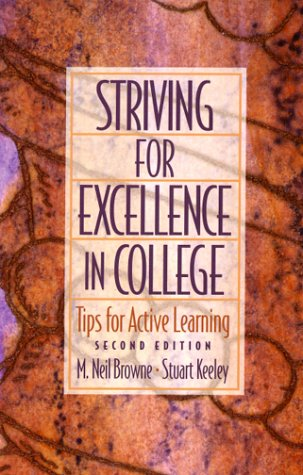 9780130220585: Striving for Excellence in College: Tips for Active Learning (2nd Edition)