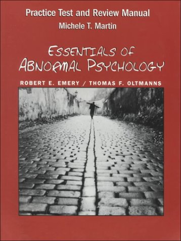 9780130220646: Essentials of Abnormal Psychology: Practice Test and Review Manual