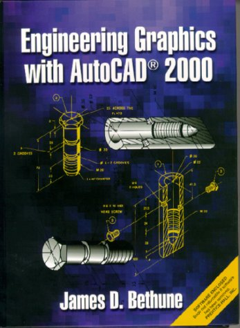 9780130221353: Engineering Graphics with AutoCAD 2000
