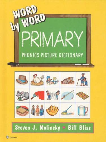 9780130222060: Word by Word Primary: Phonics Picture Dictionary