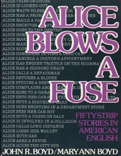 9780130222282: Alice Blows a Fuse: Fifty Strip Stories in American English