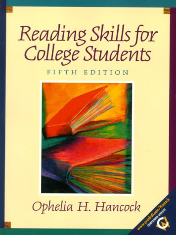 9780130222725: Reading Skills for College Students