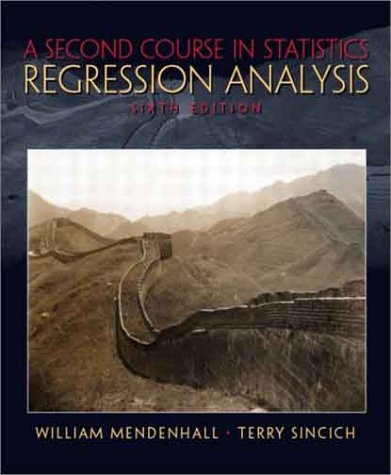 9780130223234: A Second Course in Statistics: Regression Analysis (6th Edition)