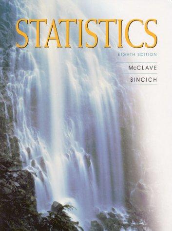 9780130223296: Statistics (8th Edition)