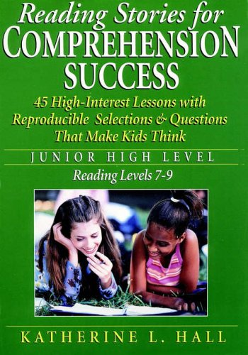 9780130223319: Reading Stories for Comprehension Success: Junior High Level, Reading Levels 7-9
