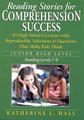 9780130223319: Reading Stories for Comprehension Success: Junior High Level Reading Level 7-9