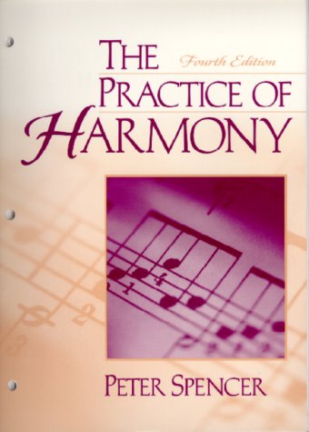 9780130223500: The Practice of Harmony (4th Edition)
