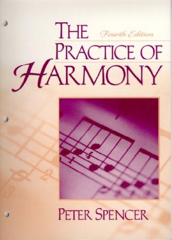 9780130223500: The practice of harmony (20th Century Interpretations)