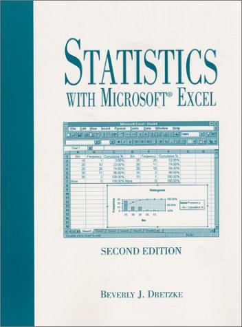 9780130223579: Statistics with Excel (2nd Edition)