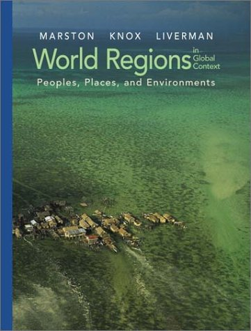 9780130224842: World Regions in Global Context