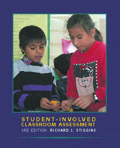 9780130225375: Student-Involved Classroom Assessment (3rd Edition)