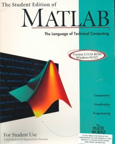 9780130225986: The Student Edition of Matlab (The MATLAB curriculum series)