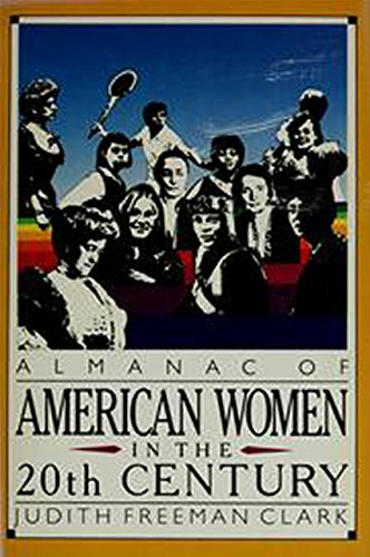 9780130226419: Almanac of American Women in the 20th Century