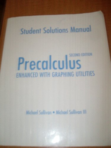 9780130226778: Student Solutions Manual