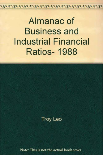 9780130227164: Almanac of Business and Industrial Financial Ratios, 1988