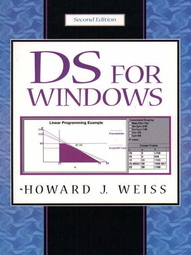 9780130227430: Decision Science for Windows (Book & CD)