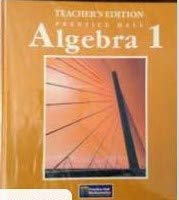 9780130231772: Algebra 1 Texas Teacher's Edition