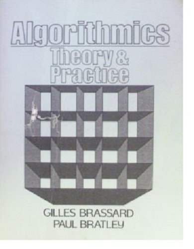 9780130232434: Algorithmics: Theory and Practice