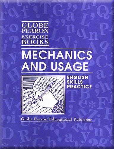 9780130232458: Mechanics and Usage English Skills Practice Book (Globe Fearon Exercise Books)