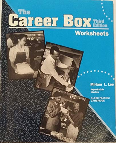 9780130235107: GLOBE FEARON CAREER BOX WORKSHEETS 2000C