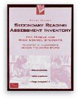 9780130235299: GLOBE FEARON'S SECONDARY READING ASSESSMENT INVENTORY 2000C (GLOBE LANGUAGE ARTS BACKLIST)