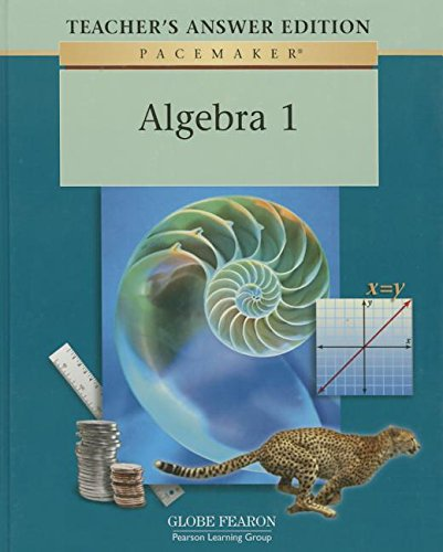 9780130236302: Algebra 1, Teacher's Answer Edition (Pacemaker series)
