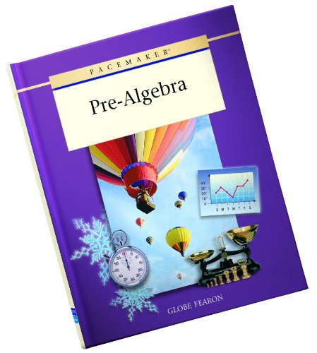 9780130236333: PACEMAKER PRE ALGEBRA SECOND EDITION SE 2001C (Pacemaker (Hardcover))