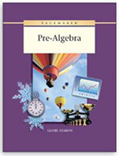 Pacemaker Pre-Algebra Workbook