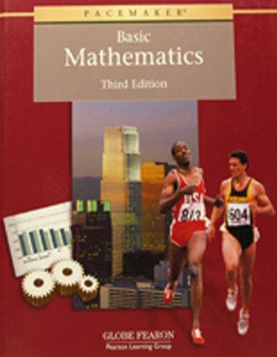 9780130236517: Pacemaker Basic Math Classroom Set Third Edition 2000c (Fearon Basic Math)