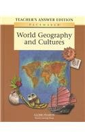 9780130236753: Pacemaker World Geography and Cultures (Teacher's Edition)